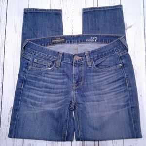 J.Crew Cropped Matchstick Jeans Size 27